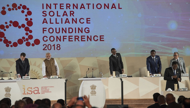 International Solar Alliance 2018